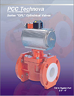 PCC Technova Series CPL Cylindrical Valves